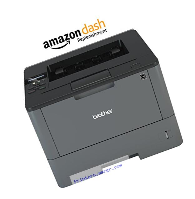Brother HL-L5200DW Business Laser Printer with Wireless Networking and Duplex, Amazon Dash Replenishment Enabled